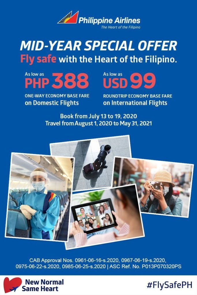 Philippine Airliens Mid-year Special Offer