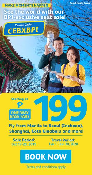 Cebu Pacific Seat Sale Exclusive