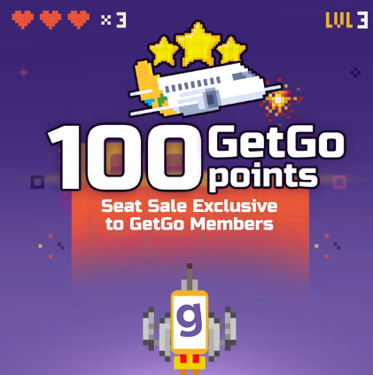 GetGo 100 Points Sale