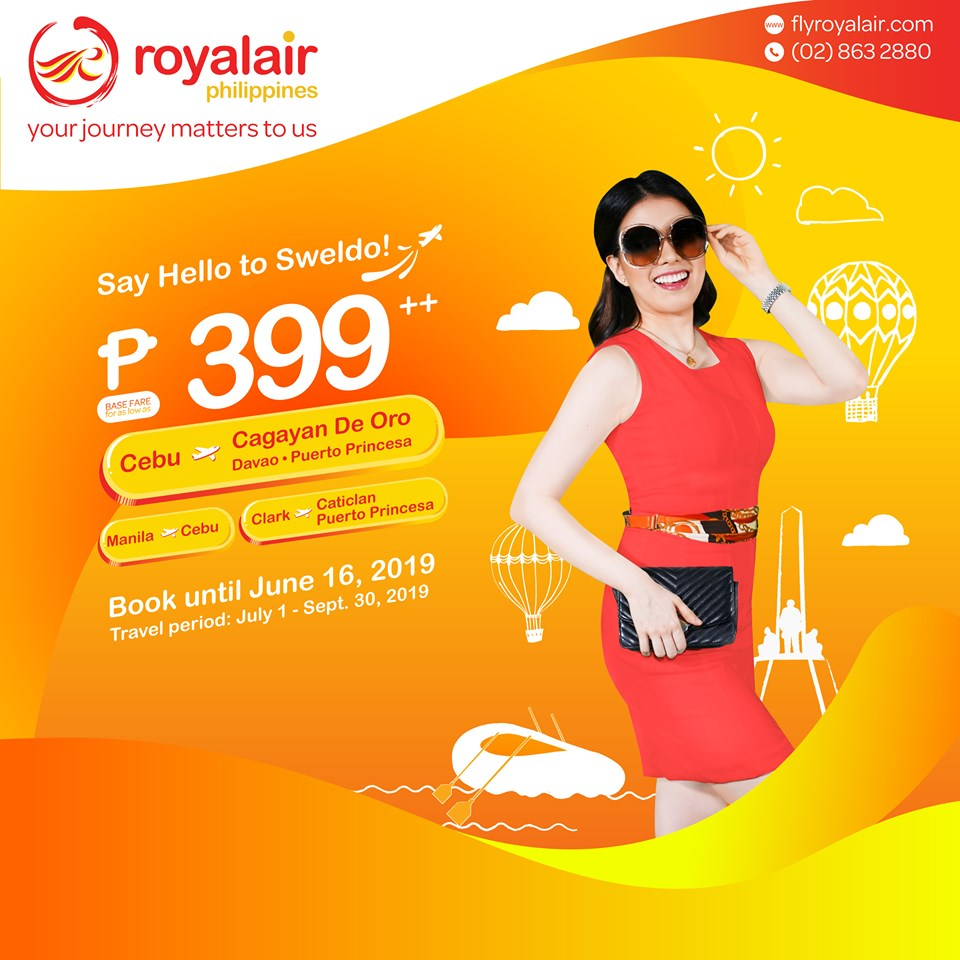 Royal Air Seat Sale
