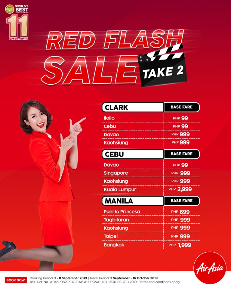 AirAsia Red Flash Sale
