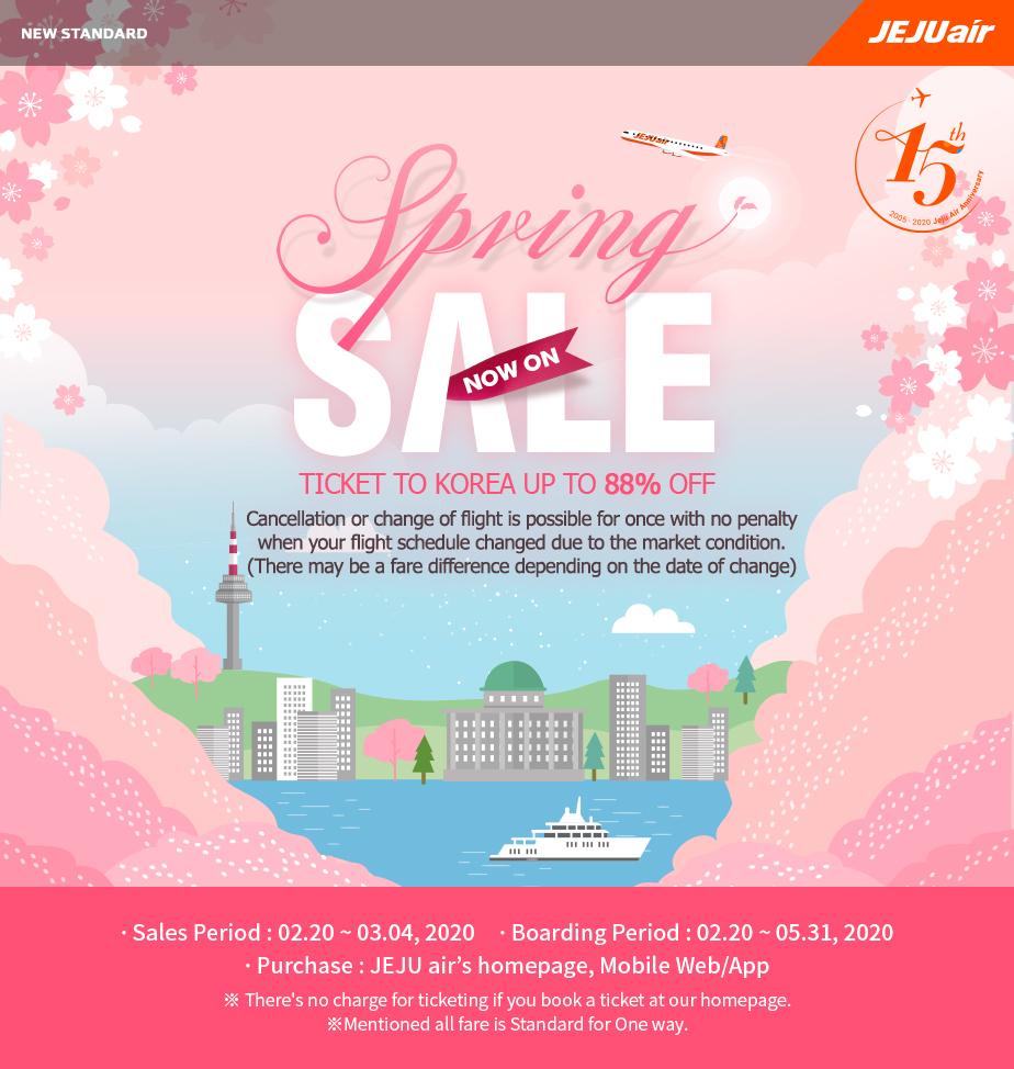 JejuAir Seat Sale